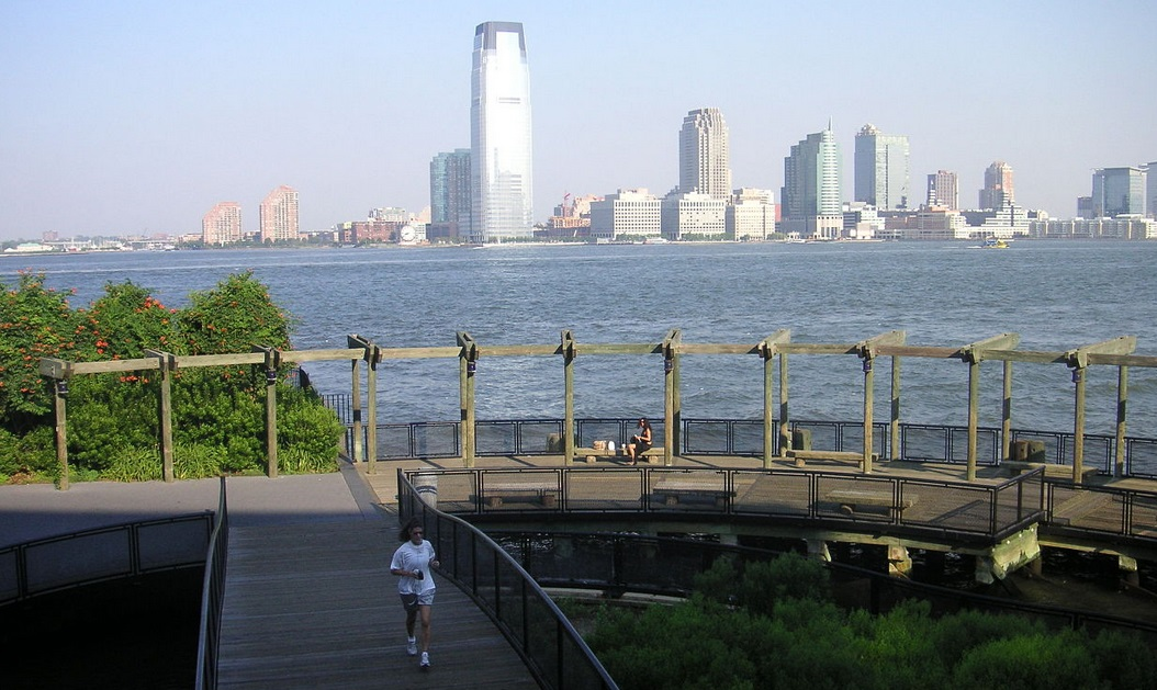 Jersey City from Battery Park